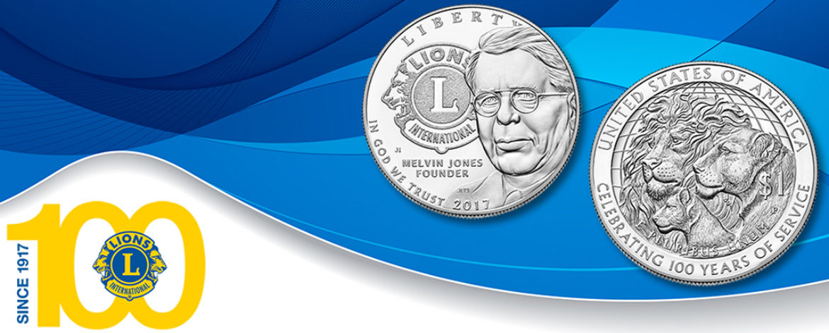 Lions Clubs Centennial Commemorative Coin