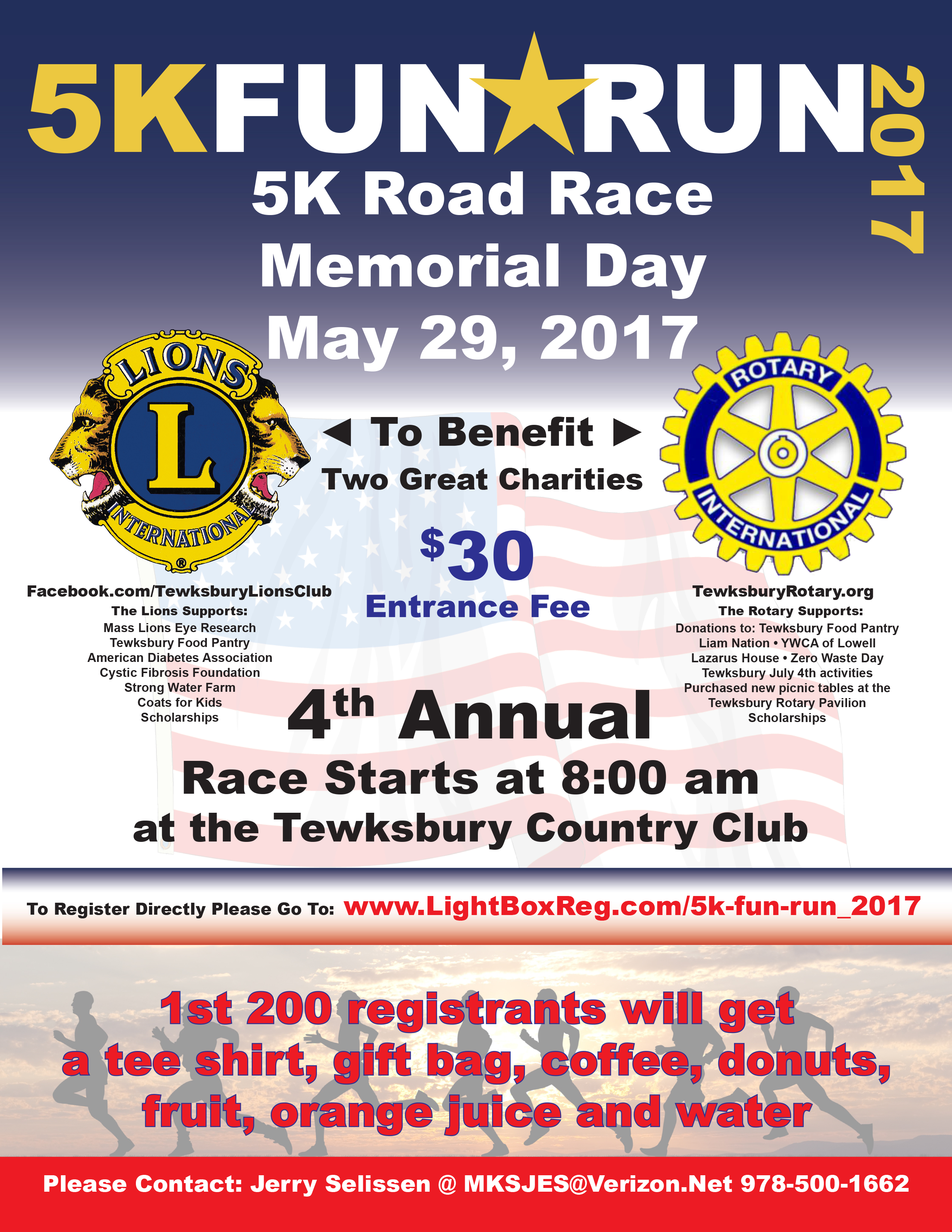 5K Road Race Fundraiser