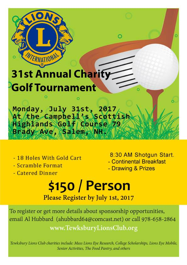 Annual Charity Golf Tournament Fundraiser